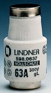 16A grau 1657.016 Mersen D-Schraub-Paßeinsatz D II