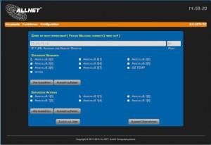 ALLNET ALL3075v3 Interface