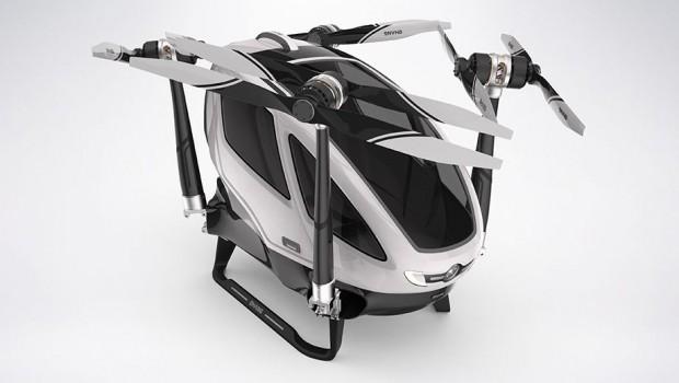 Drohne im Parkmodus