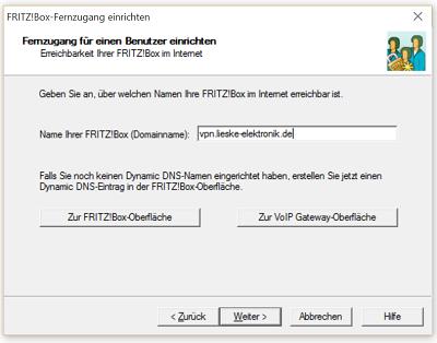 <b>VPN</b> Verbindung zur <b>Fritz</b>!<b>Box</b> unter <b>Windows 10</b> einrichten