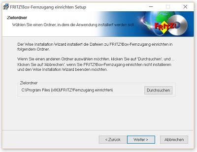 VPN Verbindung zur Fritz!Box unter Windows 10 einrichten
