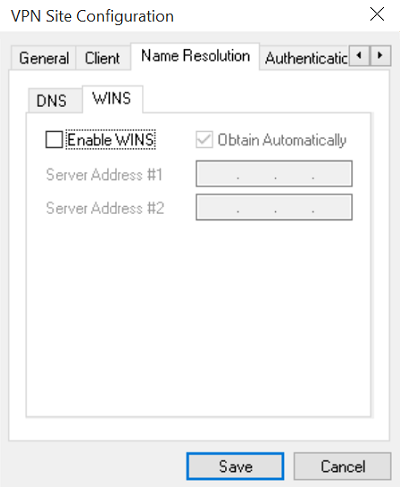VPN SIte Configuration 3