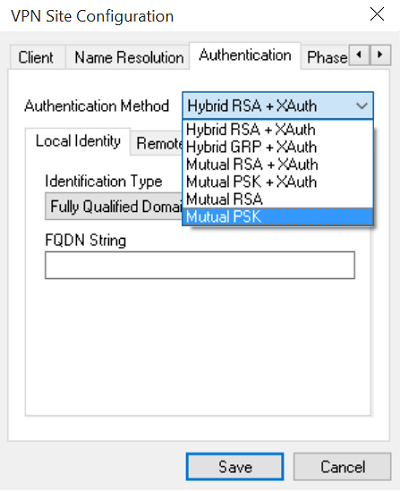 VPN SIte Configuration 4