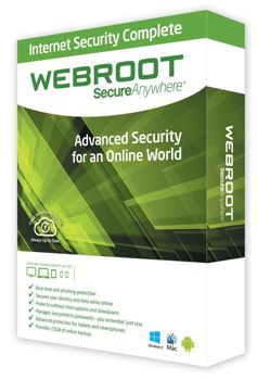 Webroot Secure Anywhere Box