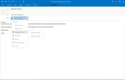 Moderne Dateianhänge in Outlook 2016